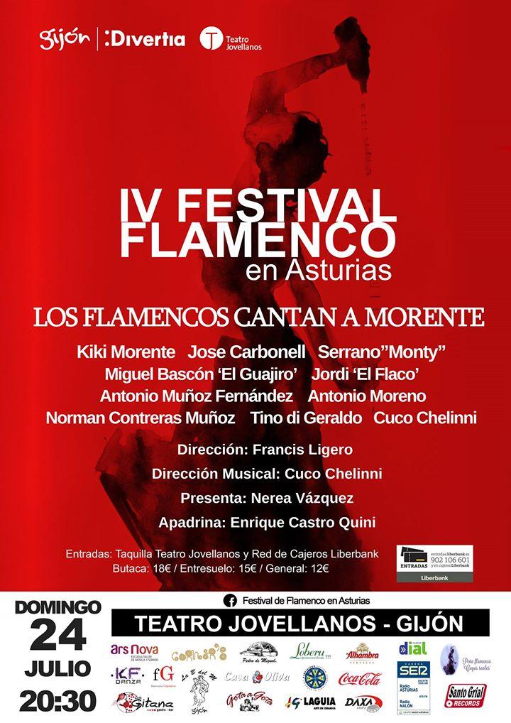 "Ars Nova patrocinador del ""IV Festival de Flamenco"" enAsturias"