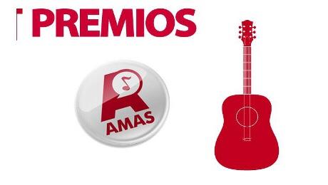 Emilio Ribera nominado al AMAS a mejor guitarrista2017