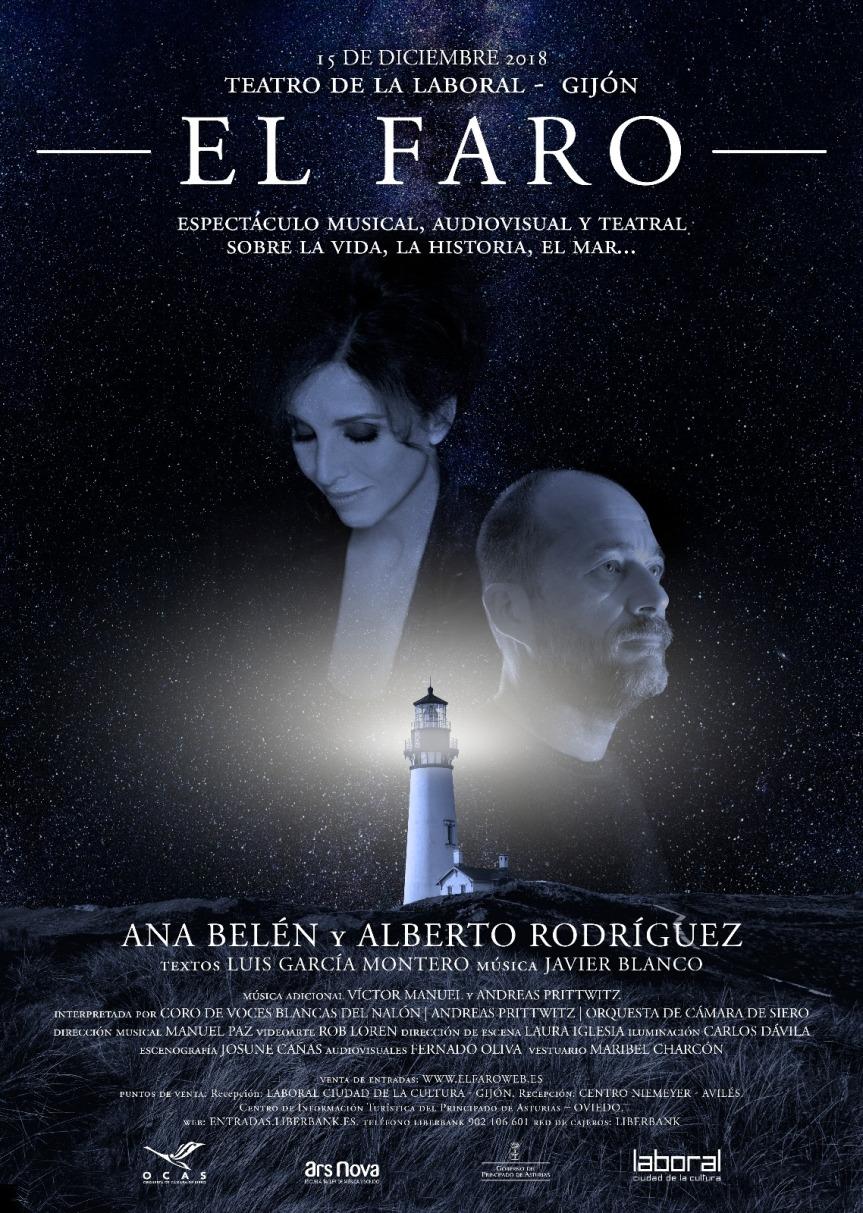 """Ars Nova presenta """"El Faro"""", un espectáculo musical/teatral/audiovisual producido por Javier Blanco y ManuelPaz."""
